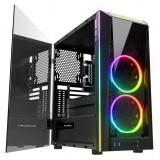 Cumpara ieftin Carcasa Gaming Gamdias M1A, MiddleTower, USB 3.0, Panou transparent, Vent. 2x...