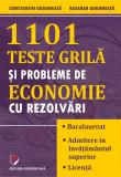 Cumpara ieftin 1101 Teste grila si probleme de economie cu rezolvari
