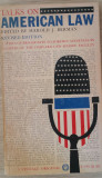 HAROLD J. BERMAN - TALKS ON AMERICAN LAW {1971}