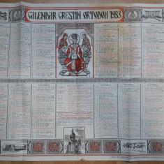 calendar vechi Crestin Ortodox 1983