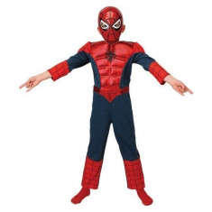 Costum Ultimate Spiderman Deluxe copii 7-8 ani