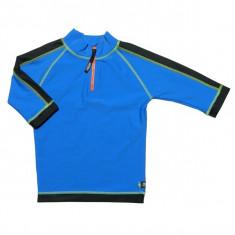 Tricou de baie blue black marimea 122- 128 protectie UV Swimpy for Your BabyKids