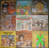 vinyl Povesti,basme Ali Baba,scandinave,1001 nopti,Pinocchio,Winnetou,Dumas