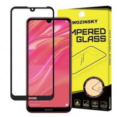 Folie Sticla Huawei Y5 2019 Wozinsky 5D Full Glue Neagru