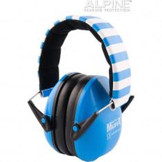 Casti antifonice pentru copii Alpine Muffy Blue ALP22780
