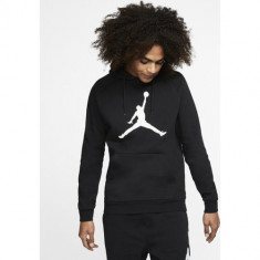 Hanorac barbati Nike Air Jordan Jumpman Logo Fleece Hoodie AV3145-010
