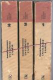 Camil Petrescu - Un om intre oameni / 3 volume/ 1800 pagini.