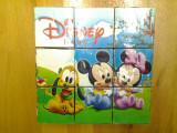 Mickey Mouse cuburi copii puzzle 6 imagini