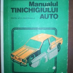 Manualul tinichigiului auto pentru scoli profesionale- I. Sava, N. Dinescu