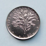 VATICAN - 50 Lire 1975 - Olive - aUNC, Europa