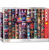 Cumpara ieftin Puzzle Eurographics - Totem Poles, 1000 piese
