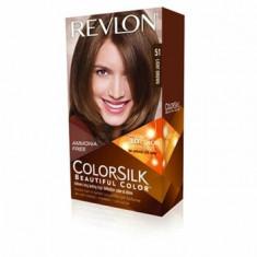 Vopsea de par ColorSilk, 51 Light Brown, 100 ml