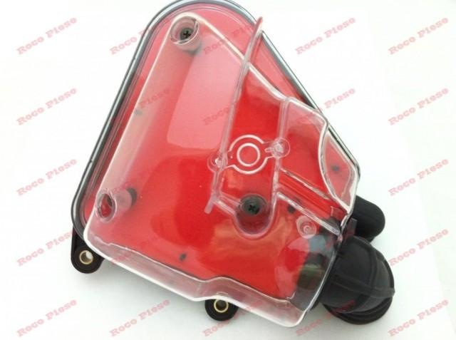 Filtru aer scuter Yamaha Jog Minareli orizontal (transparent)