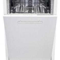 Masina de spalat vase incorporabila Heinner HDW-BI4505A++, 10 seturi, 5 programe, A++, Control electronic, Display LED, Aquastop, 45 cm (Alb)