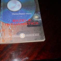 M.D. Mares- Bazele informaticii-2000
