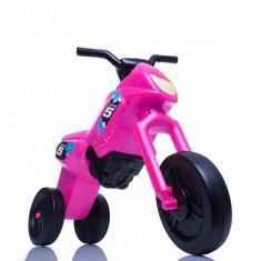 Tricicleta fara pedale Enduro roz negru