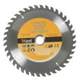 Cumpara ieftin Disc pentru fierastrau circular tip TCT, taiere lemn Wert W2540-125, O125 mm