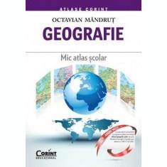 Geografie. Mic atlas școlar
