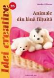 Animale din lână filțuită