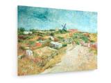 Cumpara ieftin Tablou pe panza (canvas) - Vincent Van Gogh - Veget. Gard. at Butte Montmartre...