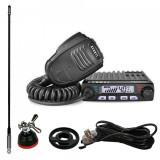 Cumpara ieftin Promotie statie radio CB Avanti Supremo + antena Sirio T3/27 + adaptor Sirio...