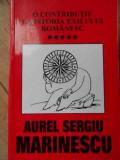 O Contributie La Istoria Exilului Romanesc Vol.5 Activitati I - Aurel Sergiu Marinescu ,520213