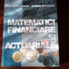 Horiana Tudor Popescu Matematici financiare si actuariale