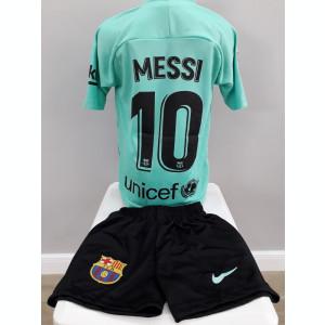 Echipament fotbal pt copii FC.Barcelona Messi model nou  2019-2020