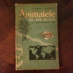 G.D. Vasiliu P. Banarescu Animalele de apa dulce si raspandirea lor, princeps, Alta editura