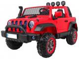 Masinuta electrica cu 2 locuri Jeep Allroad 4x4, rosu