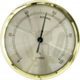 Higrometru analogic pentru interior 44.1011, TFA, 650116, alama