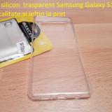 Husa silicon  trasparent Samsung Galaxy S10 plus calitate si ieftin la pret, Alt model telefon Samsung, Transparent