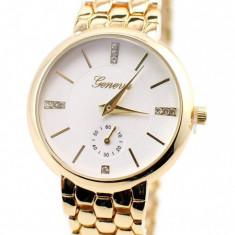 Ceas de dama elegant Geneva GOLD GV4927