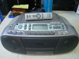 Sistem audio SONY CDF-S03CPL MP3-cu telecomanda