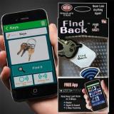 Breloc inteligent antipierdere pentru chei Find Back