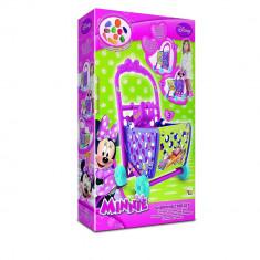 Cos pentru cumparaturi Minnie, IMC Toys, multicolor, cu accesorii