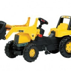 Tractoras copii 3-8Ani Cu Pedale Rolly Toys Galben