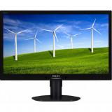 Monitor LPHILIPS 241B4L, 24 Inch Full HD LCD, VGA, DVI, 1920 x 1080, Philips