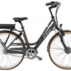 Bicicleta electrica cu cadru aluminiu ZT-79 LETIZIA N3 GREY