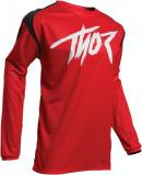 Tricou motocross Thor Sector Link rosu/negru L Cod Produs: MX_NEW 29105385PE