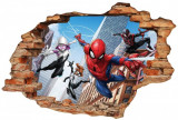 Cumpara ieftin Sticker Wall Crack Spiderman 2 - 120 x 80 cm