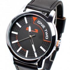 Ceas de mana barbati casual negru - elegant MATTEO FERARI - MF150CN
