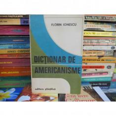 Dictionar de americanisme , Florin Ionescu