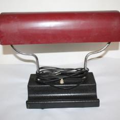 veioza, lampa de birou veche