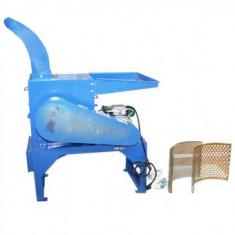 Tocator de furaje GF-0907, putere 2.8kW, 400kg/h, pentru cereale, lucerna, paie, fan