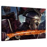 Tablou Canvas, Tablofy, Gladiator: Fiery Sword, Printat Digital, 100 × 70 cm