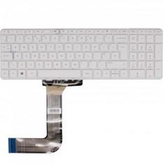 Tastatura Laptop, HP, 15-Q, fara rama, alba, UK