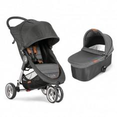 Cumpara ieftin Carucior City Mini 3 Baby Jogger, sistem 2 in 1, gri