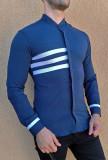 Camasa tunica - camasa slim fit camasa cu dungi camasa barbat