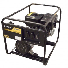 Generator pe benzina pentru curent electric Kipor – 3.3 kVa